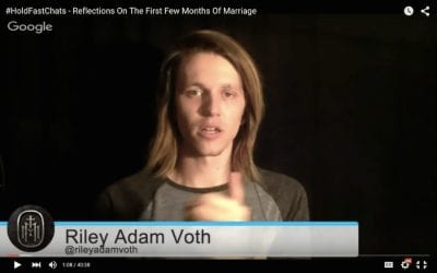 Riley Talking To Payte Hold Fast Chats Reflections On First Few Months Of Marriage-min