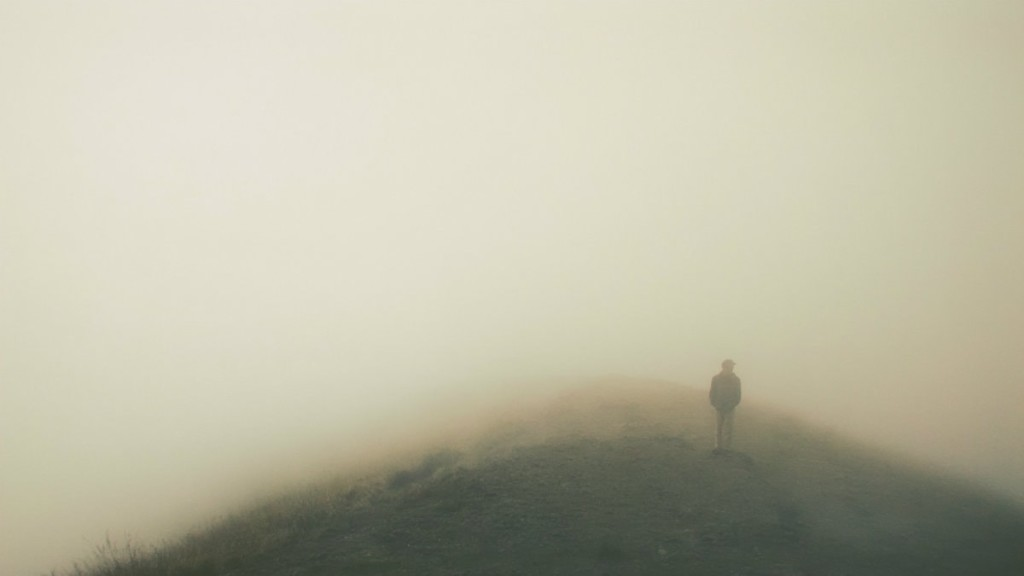 know God guy in fog knowing truly
