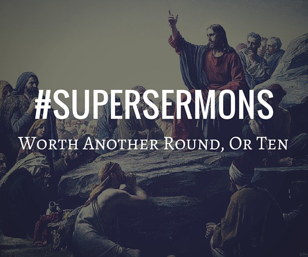 Super Sermons #SuperSermons Series Graphic