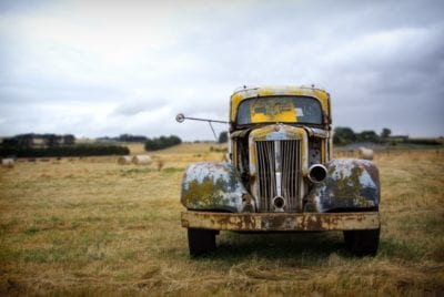 shortcuts to godliness time worn truck image