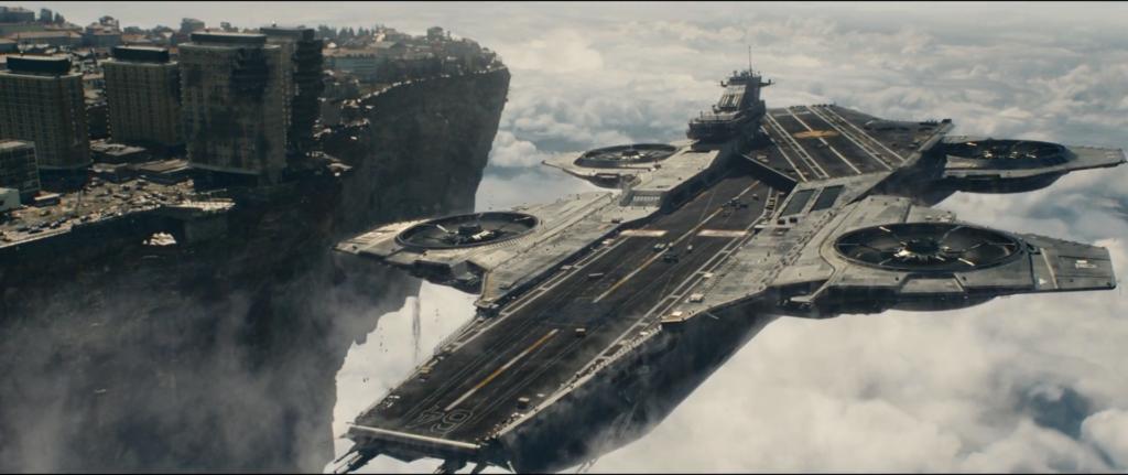 TheMajestysMen.com is a lot like the Marvel Helicarrier