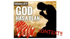 Does God have a plan to prosper you?